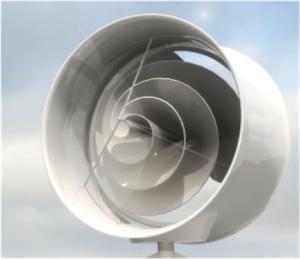 Duurzaam Jacht - Energiebalans: de Archimedes windmolens Liam F1 Urban Wind Turbine